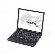 Laptop Lenovo ThinkPad X61s, Intel Core 2 Duo L7500 1.60GHz, 1GB DDR2, 250GB SATA, 12.1 Inch, Fara Webcam, Baterie consumata