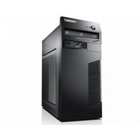 Calculator Lenovo ThinkCentre M71e Tower, Intel Core i5-2400 3.10GHz, 8GB DDR3, 120GB SSD + 500GB HDD, Placa video Gaming Geforce GTX 750/4GB GDDR5/128Bit, DVD-ROM