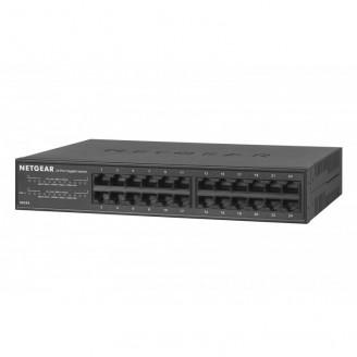 Switch NETGEAR GS324, 24 x 10/100/1000Mbps RJ-45 Ports