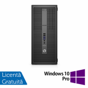 Calculator HP 800 G2 Tower, Intel Core i7-6700 3.40GHz, 4GB DDR4, 120GB SSD + Windows 10 Pro