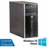 Calculator HP 6200 Tower, Intel Core i3-2100 3.10GHz, 8GB DDR3, 500GB SATA, Radeon HD6450 512MB GDDR3, DVD-ROM (Top Sale!) + Windows 10 Home