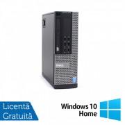 Calculator DELL OptiPlex 9020 SFF, Intel Core i7-4770 3.40GHz, 8GB DDR3, 500GB SATA, DVD-RW + Windows 10 Home