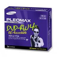 DVD-RW Samsung Pleomax 4.7GB, 1-4X, Jewel Case, 5 Bucati