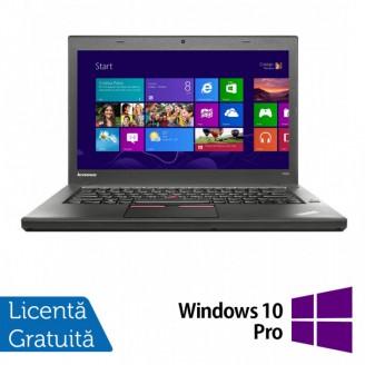 Laptop LENOVO ThinkPad T450, Intel Core i5-5300U 2.30GHz, 8GB DDR3, 120GB SSD, 14 Inch + Windows 10 Pro