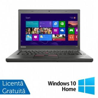 Laptop LENOVO ThinkPad T450, Intel Core i5-5300U 2.30GHz, 8GB DDR3, 120GB SSD, 14 Inch + Windows 10 Home