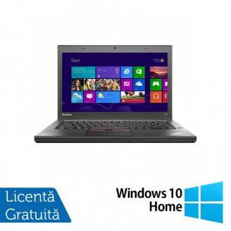 Laptop LENOVO ThinkPad T450, Intel Core i5-5300U 2.30GHz, 8GB DDR3, 240GB SSD, 14 Inch + Windows 10 Home