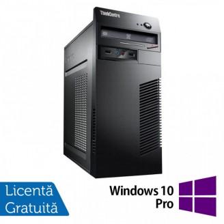 Calculator Lenovo ThinkCentre M71e Tower, Intel Core i5-2400 3.10GHz, 8GB DDR3, 120GB SSD + 500GB HDD, Placa video Gaming Geforce GTX 750/4GB GDDR5/128Bit, DVD-ROM + Windows 10 Pro