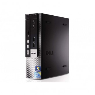 Calculator Dell Optiplex 780 USFF, Intel Core 2 Duo E7500 2.93GHz, 4GB DDR3, 250GB SATA, DVD-ROM
