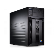 Server Dell PowerEdge T310 Tower, Intel Quad Core Xeon X3430 2.4 GHz-2.8GHz, 16GB DDR3 ECC Reg, 2x 1TB SATA, Raid Controller H200, idrac 6 Enterprise, 2x LAN Gigabit, 2x Surse HOT SWAP