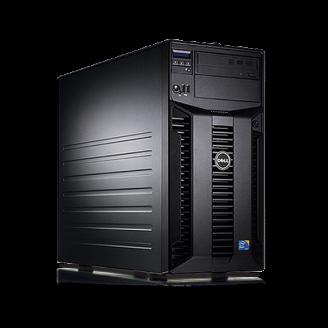 Server Dell PowerEdge T310 Tower, Intel Quad Core Xeon X3430 2.4 GHz-2.8GHz, 16GB DDR3 ECC Reg, 2x 1TB SATA, Raid Controller H200, idrac 6 Enterprise, 2x LAN Gigabit, 2x Surse HOT SWAP