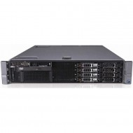 Server Dell PowerEdge R710, 2x Intel Xeon Quad Core E5540 2.53GHz - 2.80GHz, 32GB DDR3 ECC, 2x 600GB SAS/10k-2,5 inch, Raid Perc 6i, Idrac 6, 2 surse redundante