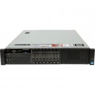 Server Dell PowerEdge R720, 2x Intel Xeon Hexa Core E5-2640 2.50GHz - 3.00GHz, 256GB DDR3 ECC, 2 x 250GB SSD Samsung + 6 x 1TB SSD Samsung , Raid Perc H710 mini, Idrac 7, 2 surse HS