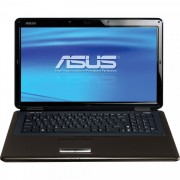 Laptop ASUS K70IO, Intel Pentium T4200 2.00GHz, 4GB DDR2, 500GB SATA, NVIDIA GeForce GT 120M 1GB VRAM, DVD-RW, 17.3 Inch HD+, Tastatura Numerica, Webcam
