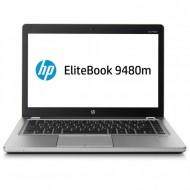 Laptop HP EliteBook Folio 9480m, Intel Core i7-4600U 2.60GHz, 8GB DDR3, 240GB SSD, 14 Inch, Webcam, Grad A-
