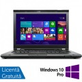 Laptop LENOVO ThinkPad T430, Intel Core i5-3210M 2.50GHz, 4GB DDR3, 320GB SATA, DVD-RW, 14 Inch, Webcam + Windows 10 Pro