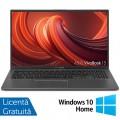 Laptop Nou Asus VivoBook 15 R564JA-UH51T, Intel Core i5 Gen 10 i5-1035G1 1.00-3.60GHz, 8GB DDR4, 256GB SSD, 15.6 Inch Full HD TouchScreen, Webcam, Tastatura Numerica + Windows 10 Home