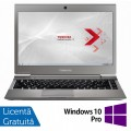 Laptop Toshiba Portege Z930-110, Intel Core i5-3317U 1.70GHz, 4GB DDR3, 120GB SSD M.SATA, 13.3 Inch, Webcam + Windows 10 Pro
