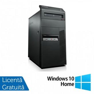 Calculator Lenovo Thinkcentre M91p Tower, Intel Core i7-2600 3.40GHz, 4GB DDR3, 500GB SATA, DVD-RW + Windows 10 Home