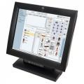 Monitor TouchScreen Wincor Nixdorf BA83, 15 Inch LCD, 1024 x 768, VGA, DVI, USB