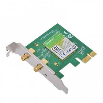 Placa retea wireless, 2 antene, slot PCI-E X1, low profile pentru SFF, diverse modele, second hand