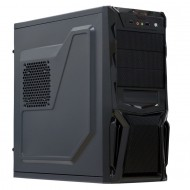 Sistem PC, Intel Core i5-3470s 2.90 GHz, 8GB DDR3, 120 SSD, Radeon RX 580 8GB, DVD-RW, CADOU Tastatura + Mouse
