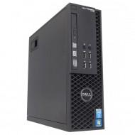 Workstation Dell Precision T1700 SFF, Intel Quad Core i7-4770 3.40GHz - 3.90GHz, 32GB DDR3, 240GB SSD, nVidia Quadro 600/1GB, DVD-RW